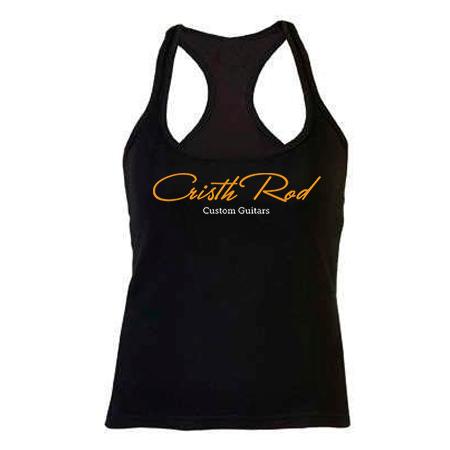 camiseta-tirantes-negra-chica-logo-dorado-cristh-rod