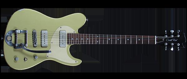 SILVERADO Gold Rocket – Guitarra Artesanal