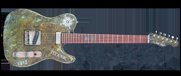 TL 1912 Titanic – Guitarra Artesanal
